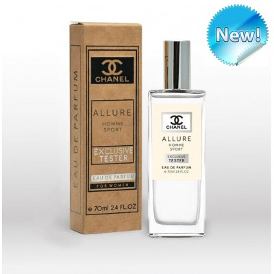 Парфюм-тестер  CHANEL ALLURE HOMME SPORT MEN 70 ML