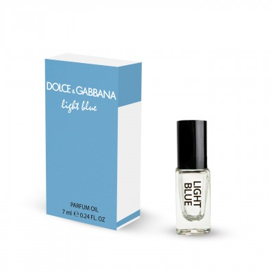 Духи масляные DOLCE & GABBANA LIGHT BLUE WOMEN 7 ML