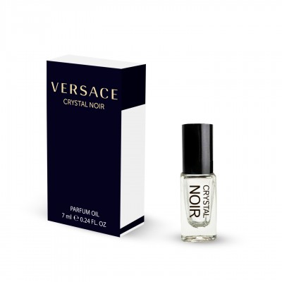 Духи масляні Versace Crystal Noir 7 ML