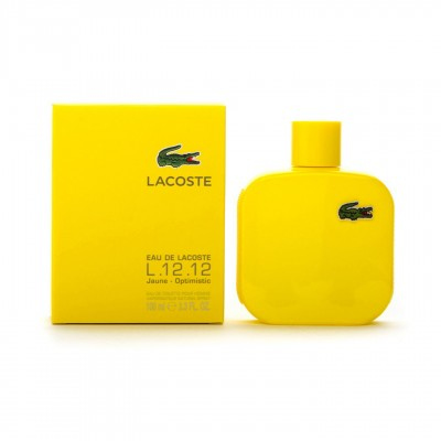 LACOSTE L 12 JAUNE OPTIMISTIC 100 ML