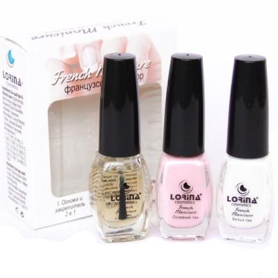 "Набор   лаков для ногтей ""French manicure"" (3 x 12 мл)"